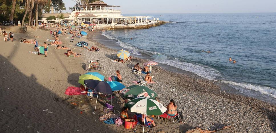 Doce detenidos por cometer robos al descuido a bañistas en las playas de Málaga