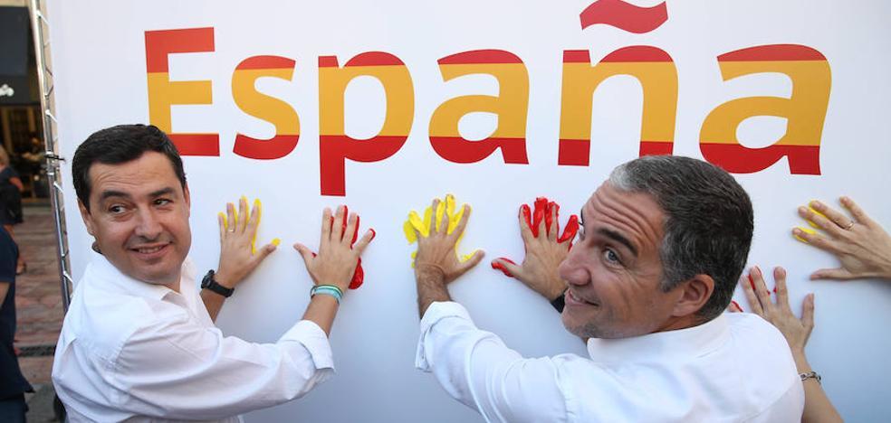 El PP reivindica en Málaga la unidad de España frente al desafío «de un grupo de fanáticos»