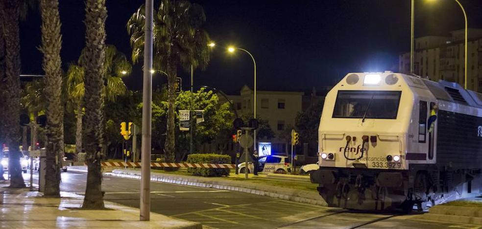 El soterramiento del tren del Puerto de Málaga permitiría la entrada y salida de hasta doce trenes diarios