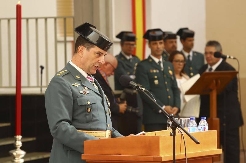 Fotos del acto de la patrona de la Guardia Civil en Málaga