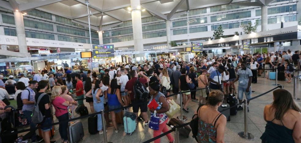 El aeropuerto de Málaga, el segundo que más crece de los 30 principales de la UE