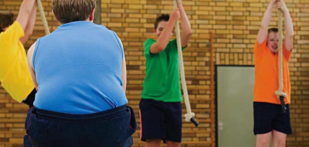 Los niños y jóvenes obesos se multiplican por diez en cuatro décadas