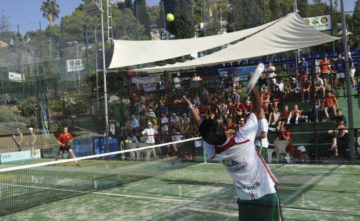 Fotos de los cuartos de final del Mundial de Pádel de Menores