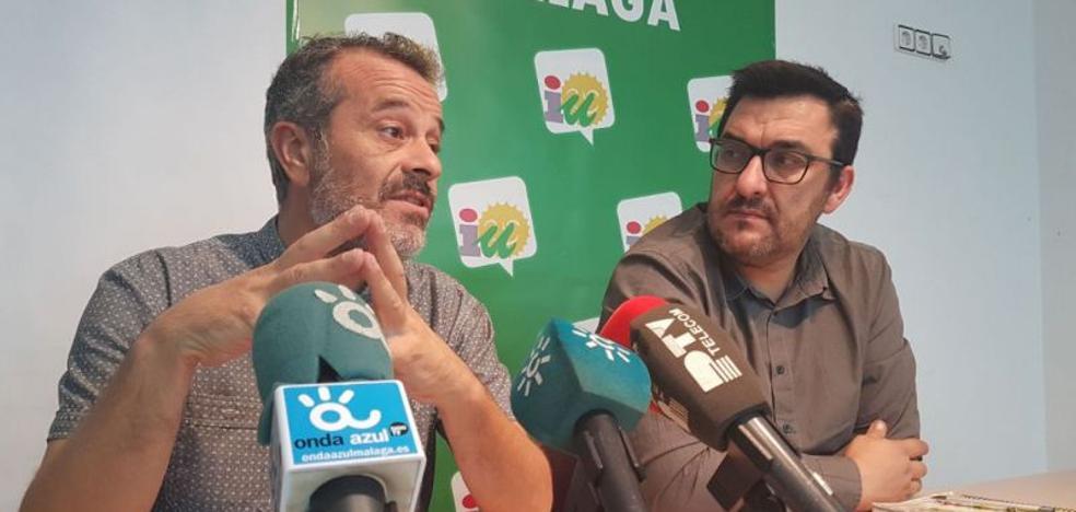 IU critica la escasez de los presupuestos de la Junta para Málaga