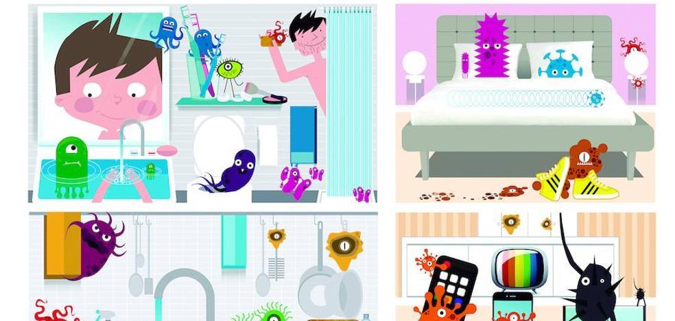 Tu casa está llena de estos microbios