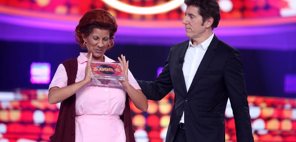 La cantante malagueña Diana Navarro, ganadora de la tercera gala de Tu Cara me Suena