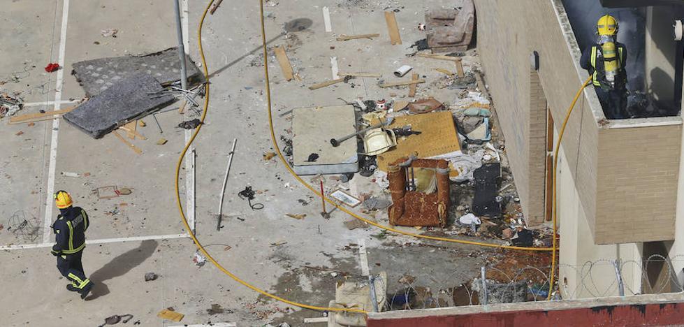 Vuelven los problemas al edificio okupado de la avenida Juan XXIII