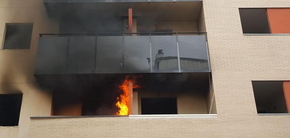 Incendio en una vivienda de un edificio okupado en Juan XXIII