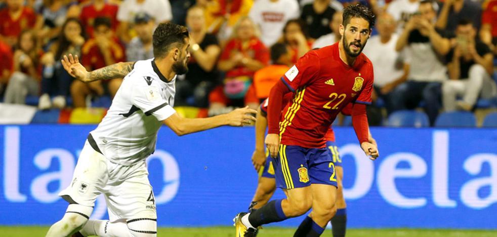 España vuelve a La Rosaleda: jugará el 11 de noviembre ante Costa Rica