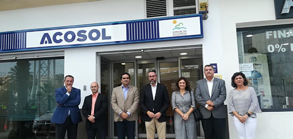 Acosol abre una nueva oficina de atención al cliente en Mijas