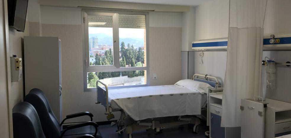 Carlos Haya reforma tres plantas de hospitalización y dos módulos de la UCI