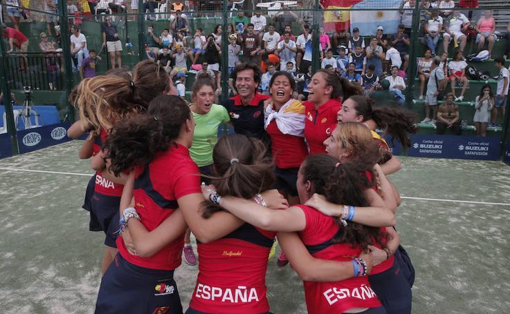 España y Argentina se juegan el cetro del Mundial del Pádel de Menores