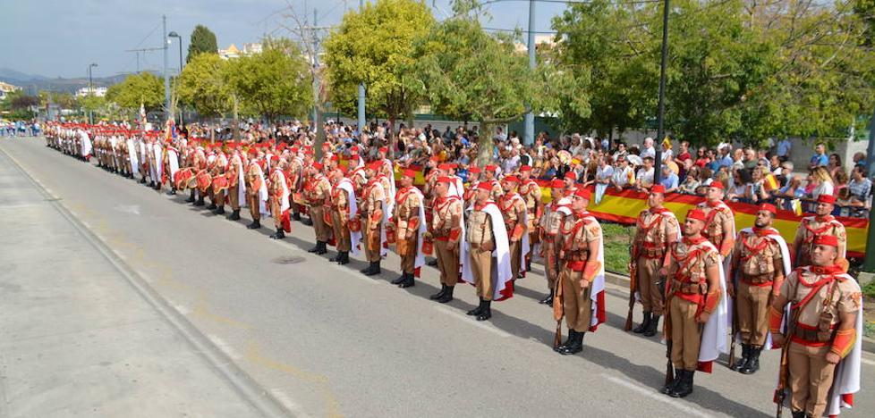 Todos los vídeos de la jura de bandera en Vélez-Málaga