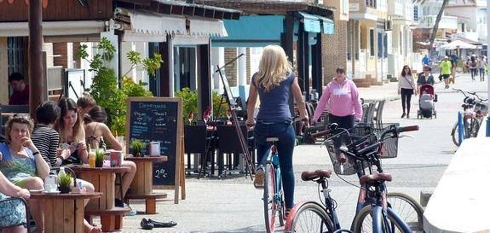 En bicicleta hasta El Palo
