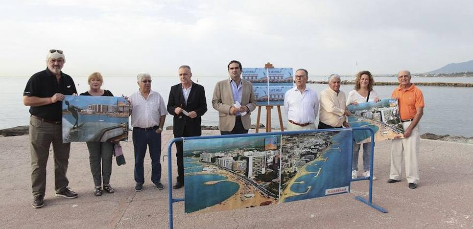 Un concurso de dibujo y pintura apoyará la construcción de espigones transitables en Marbella