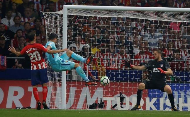 El Atlético no aguanta ante la ambición