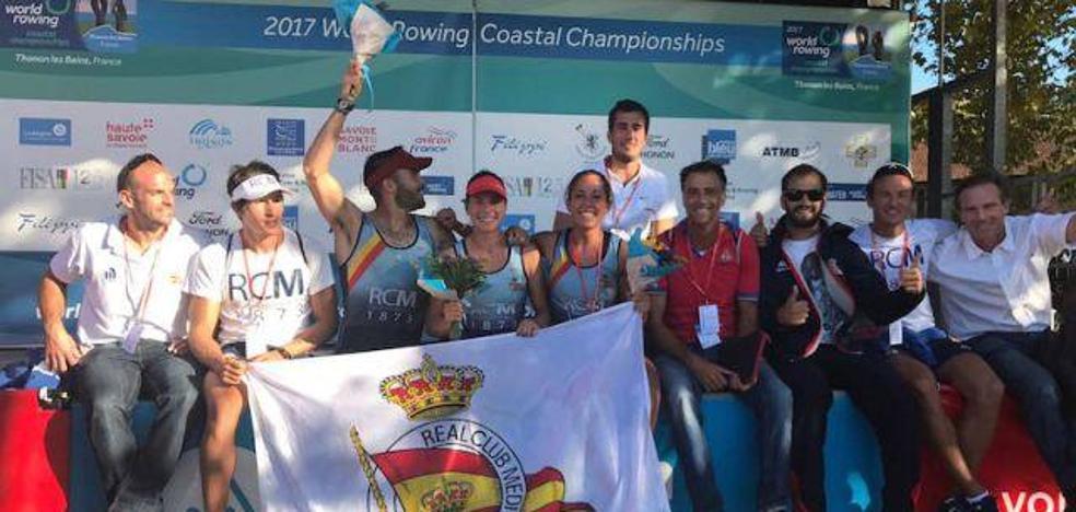 Dos bronces para el Mediterráneo en el Mundial de remo de mar