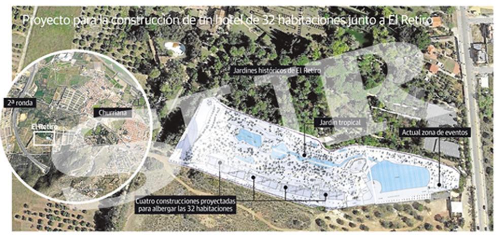 La Junta pide sondeos arqueológicos para un hotel junto al jardín de El Retiro