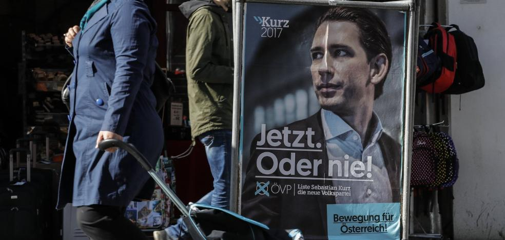 La derecha se perfila ganadora en Austria