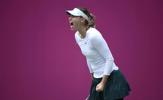 Sharapova conquista su primer título desde su suspensión por dopaje