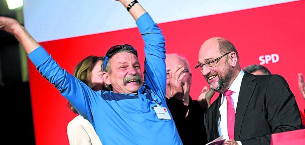 El SPD alemán celebra el primer triunfo del año