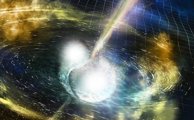Somos polvo de estrellas de neutrones