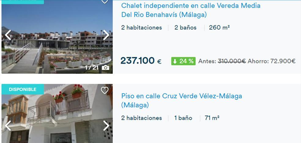 Cajamar pone a la venta 340 inmuebles con descuentos de hasta el 40 % en Málaga