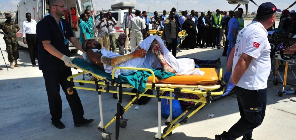 Somalia acusa a la milicia Al-Shabab del atentado en Mogadiscio