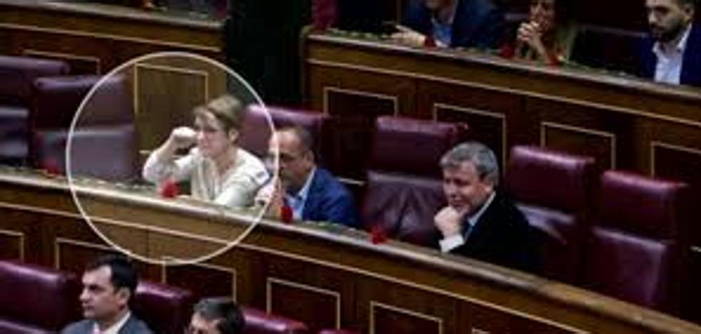 Corte de mangas de una diputada del PDeCAT a Toni Cantó en el Congreso: «Es lo que se merecía»