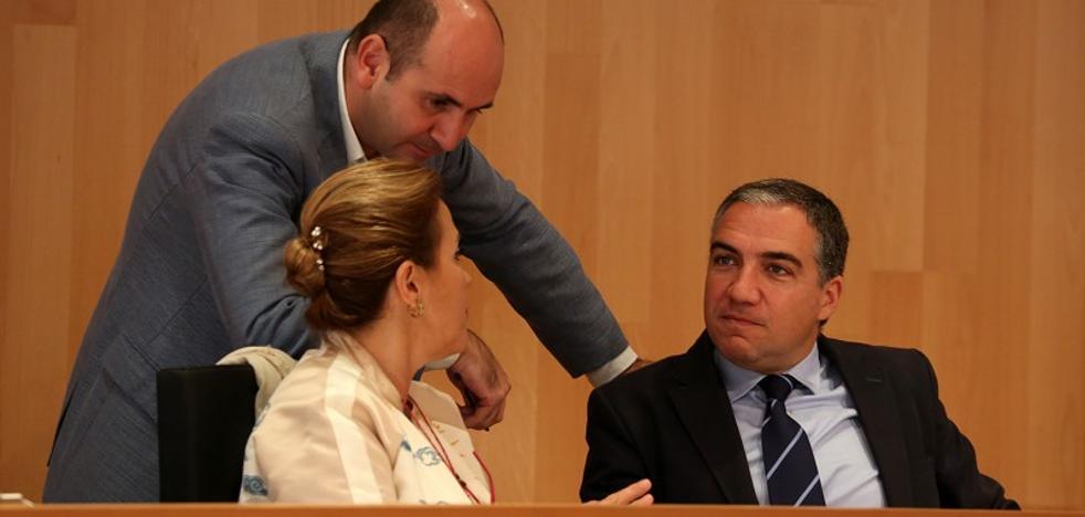Cataluña se cuela en el pleno de la Diputación de Málaga