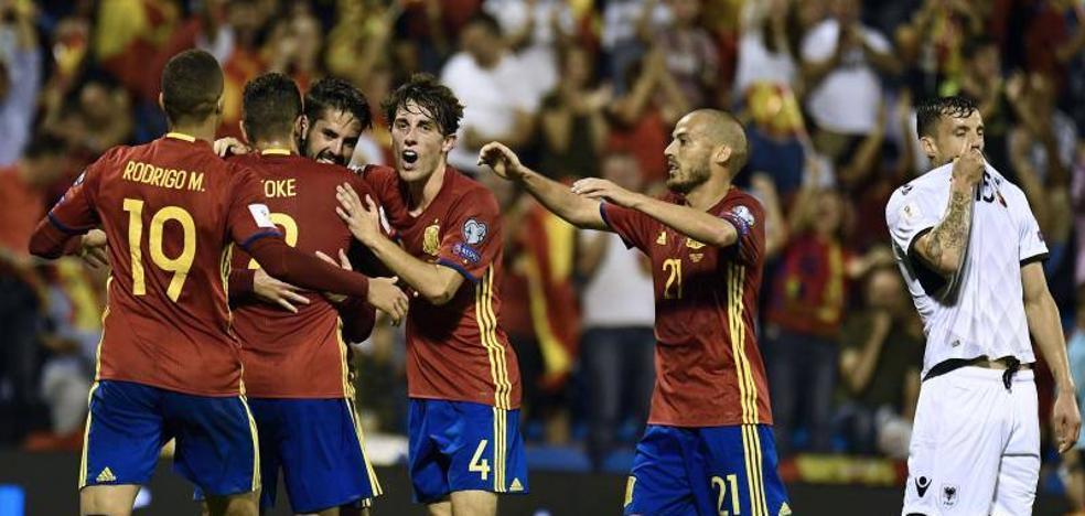 Las entradas para el España-Costa Rica en Málaga, entre 20 y 60 euros