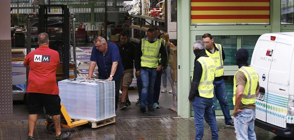 La Guardia Civil busca en el 112 de Reus las conversaciones de los Mossos el 1-O
