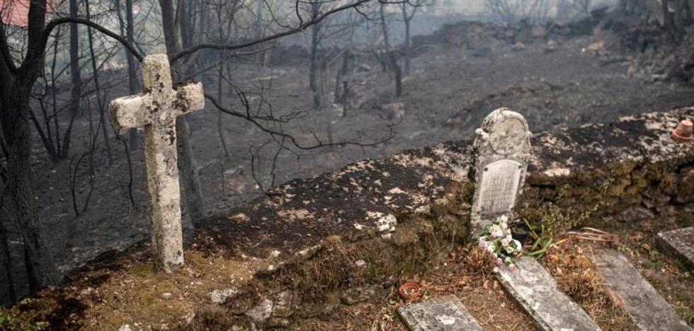 Galicia registra 82 fuegos, siete de ellos con riesgo real para la población