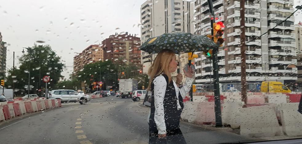 El otoño irrumpe esta semana con bajadas de temperaturas y lluvias en Málaga