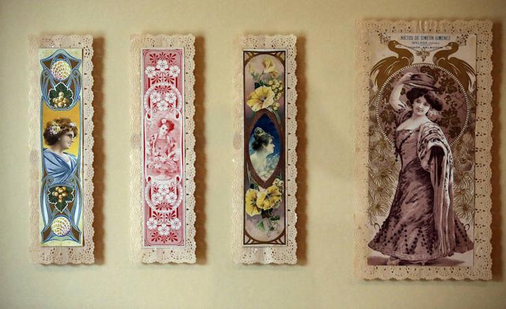 La exposición temporal 'Las pasas de Málaga y las artes decorativas', en fotos