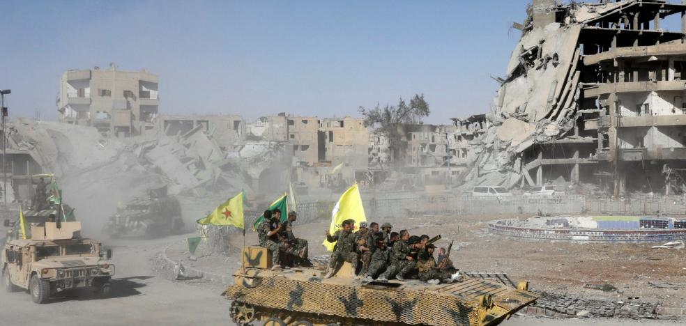 El califato es historia tras la pérdida de Raqqa