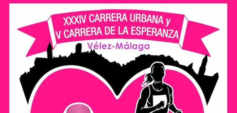 La XXXIV Carrera Urbana y la V Carrera de la Esperanza tomarán Vélez-Málaga el 12 de noviembre