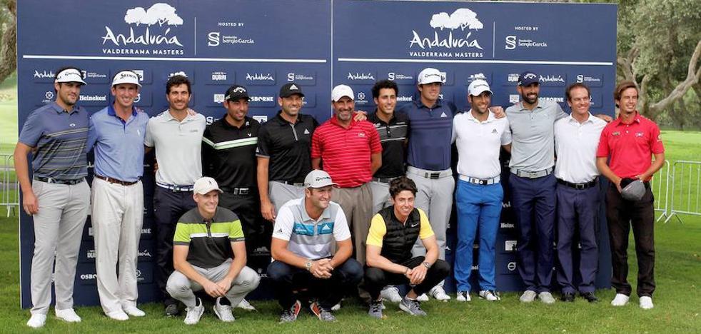 Sergio García aspira a revalidar el título en Valderrama frente a los grandes golfistas internacionales