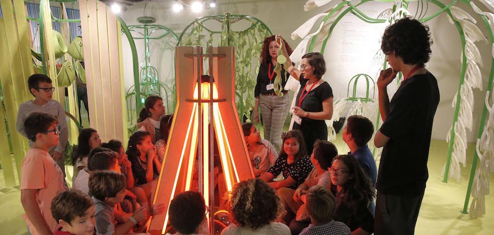 El Pompidou de Málaga cuida la semilla del público infantil