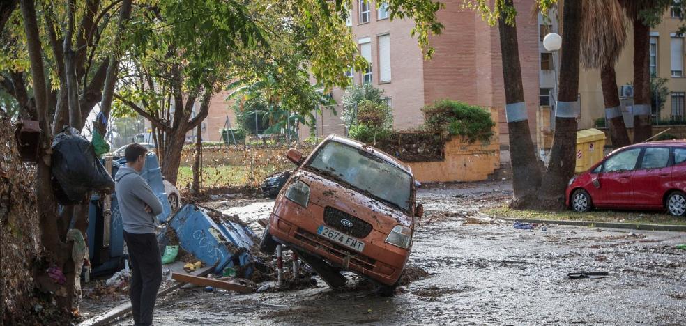 El temporal obliga a suspender operaciones en el hospital de Jerez