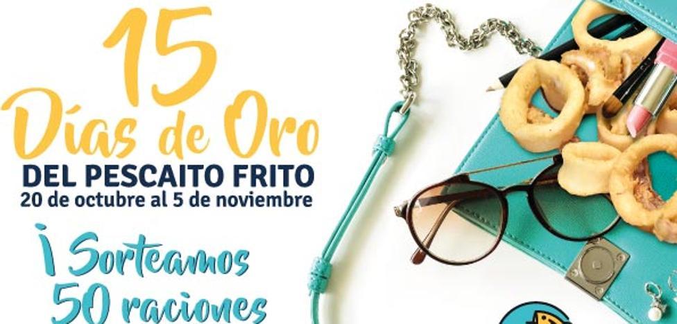 """Los Mellizos sortean 50 raciones de pescaíto frito con motivo de las jornadas """"15 Días de Oro del Pescaíto Frito"""""""