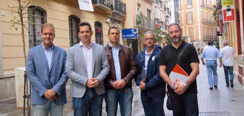 Ciudadanos exigirá en el pleno que el edificio de la Casa Invisible salga a concurso para instalarse un proyecto cultural
