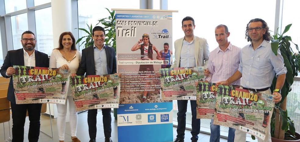 Más de 300 corredores se darán cita en el III Chamizo Trail de Villanueva del Rosario