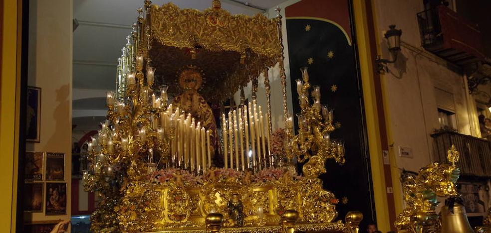 Tres procesiones recorren las calles de Málaga este fin de semana