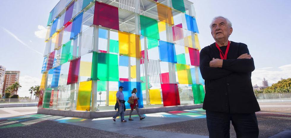 Daniel Buren: «El Cubo es la marca registrada de Málaga»