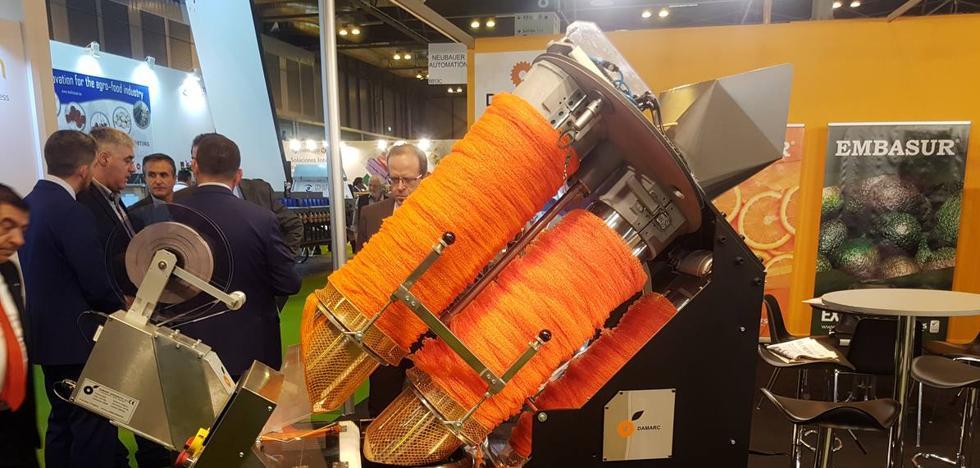 Las malagueñas Embasur y Dreatec presentan en Fruit Attraction una máquina de envasado de residuo cero