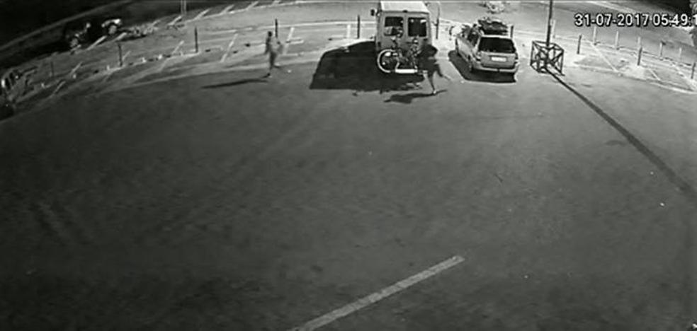 Siete detenidos por asaltar coches estacionados en áreas de servicio de Málaga