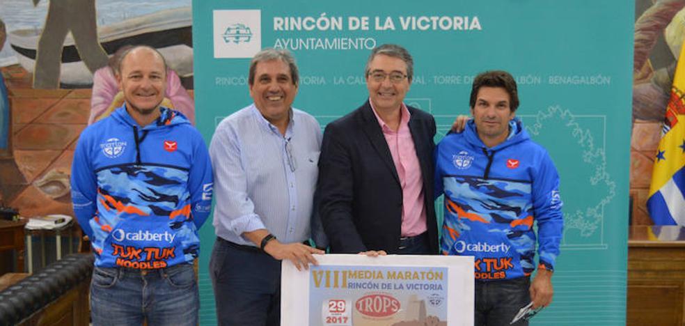 La VIII Media Maratón de Rincón de la Victoria estrena nuevo recorrido con 500 inscritos
