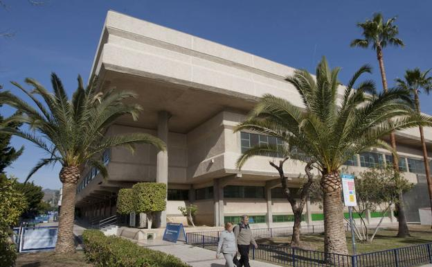 El ayuntamiento destinar euros a mejoras en el for Polideportivo ciudad jardin malaga