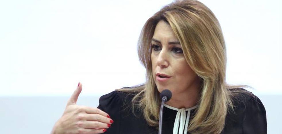 Susana Díaz respalda al Gobierno para que «restituya la legalidad cuanto antes»